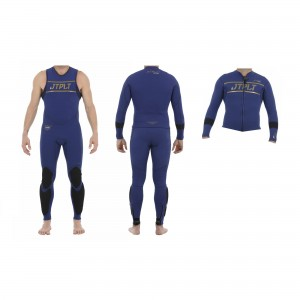 Jetpilot Matrix Race John and Jacket Navy/Gold