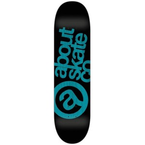 ABOUT Monocjrome Aqua Complete skateboard
