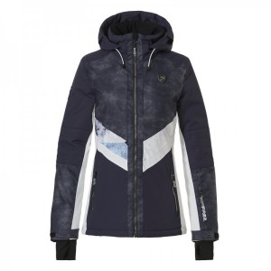 Megan-R Snowjacket Womens Navy