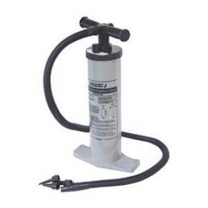 Double action air pump
