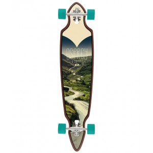 Downhill Twin Tip Longboard