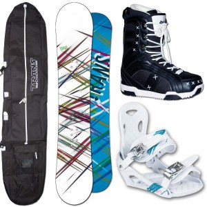 Trans women set Board+boots+bindings+bag